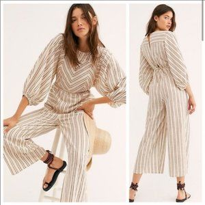 Free People Kenny Jumpsuit Large NWT